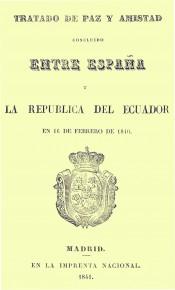 Tratado de Paz y Amistad concluido entre España y la República del Ecuador