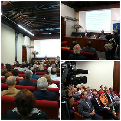Conferencia en la Casa Colón - Antonio Tejera Gaspar