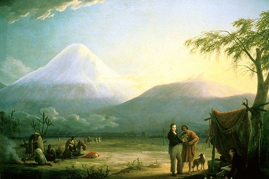 Humboldt y Bonpland - Chimborazo