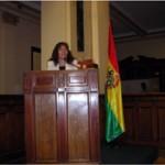 Vicepresidenta del Gobierno presentando la Brigadas