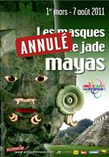 Las máscaras de mosaico de jade