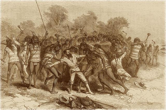 Crevaux y los indios Tobas