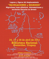 Encuentro Navegaciones y regresos. Migraciones trans-atlánticas, interamericanas y territorios literarios en devenir