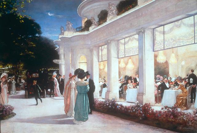 Une soirée au Pré-Catelan - H. Gervex