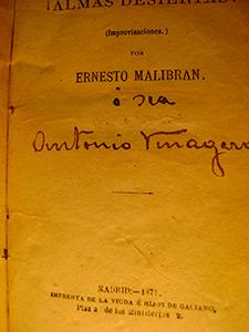 Almas desiertas! de Ernesto Malibran