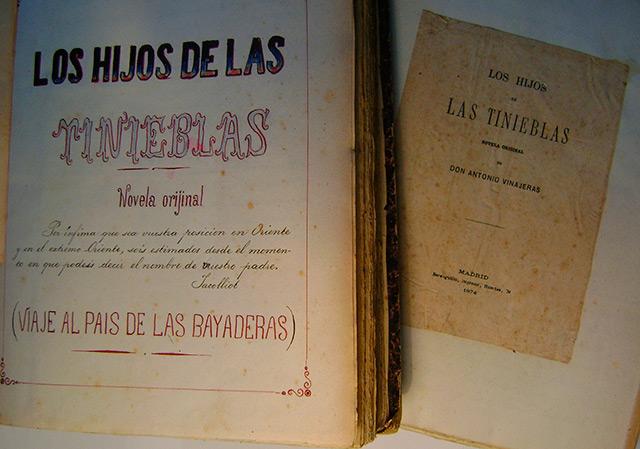 Libros Antonio Vinageras