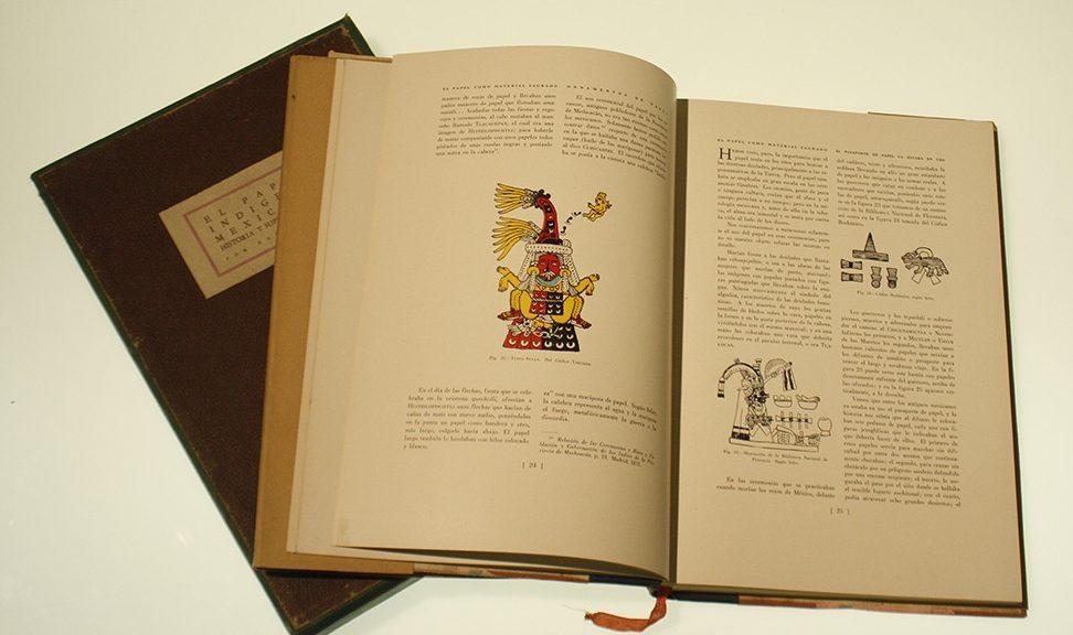Libro Papel indigena mexicano